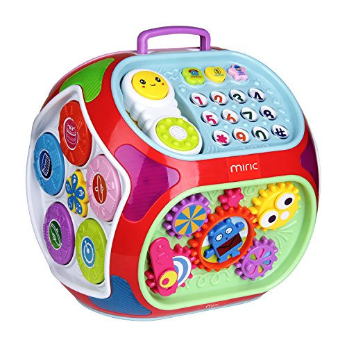 Electronic Toys For One Year Olds : Miric baby activity cube center house in electronic