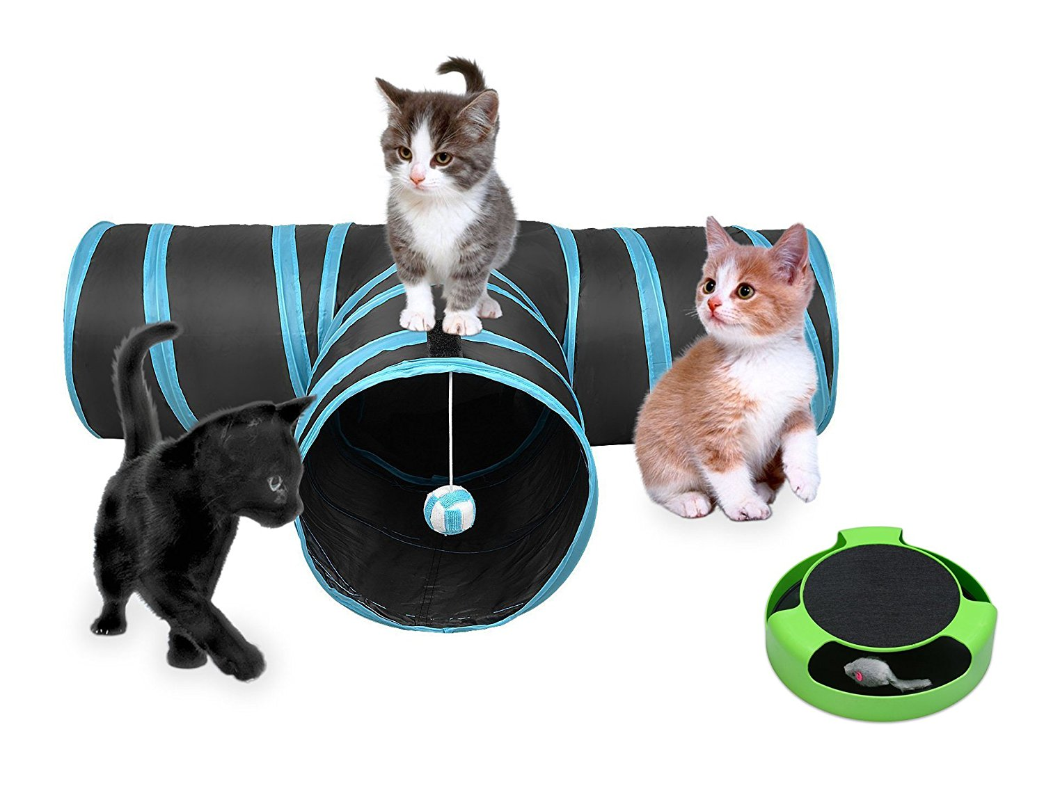 Way Cat Tunnel Toy