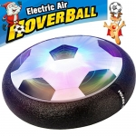 AMENON Kids Air Power Soccer Football Size 4 Boys Girls Sport Children Novelty Toys Training Football Indoor Outdoor Floating Disk Hover Ball Game,Christmas Light Up Toys