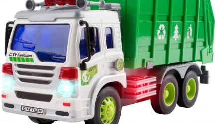 Garbage Truck Toys for 3 Year Old Boys and Girls – Friction Powered Toy Cars for Toddlers – Kids Toys