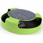Homewinner Motion Cat Toys Catch The Mouse Interactive Plush Scratching Claw Mat