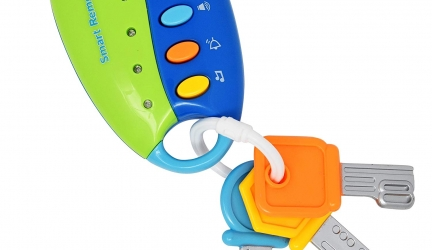 Number 1 in Gadgets Musical Smart Remote Key Toy for Baby, Toddler, and Kids