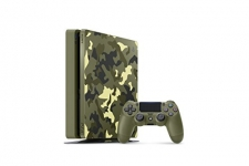 PlayStation 4 Slim 1TB Limited Edition Console – Call of Duty WWII Bundle