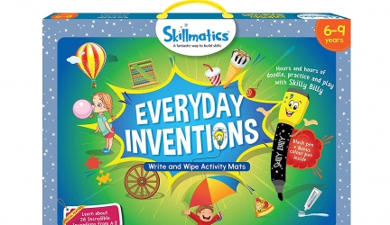 Skillmatics Educational Game : Everyday Inventions | STEM Learning | Creative Fun Activities| Gift Boys Girls Kids Ages 6 to 9 Years